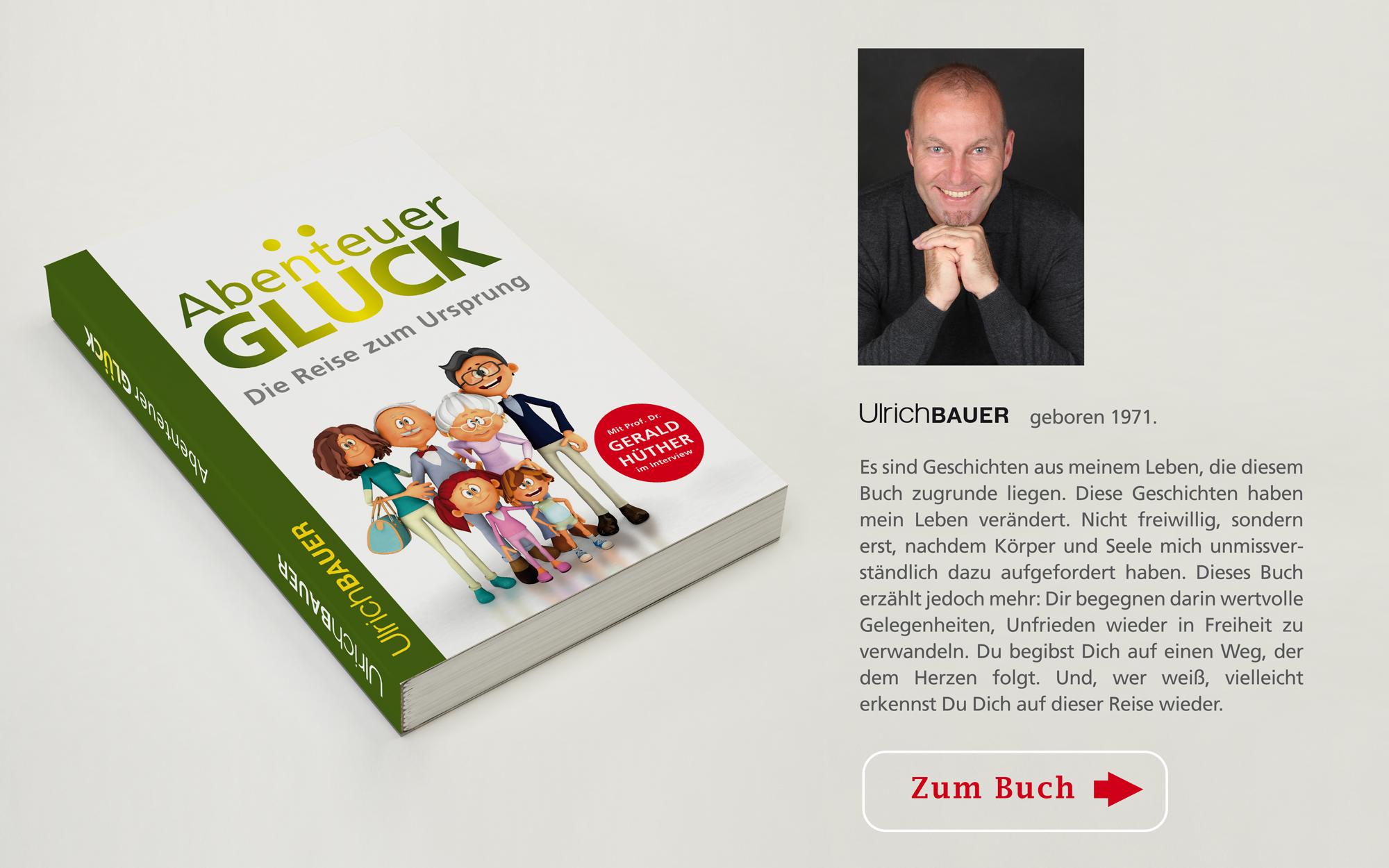 Buch: Abenteuer Glück, Die Reise zum Ursprung